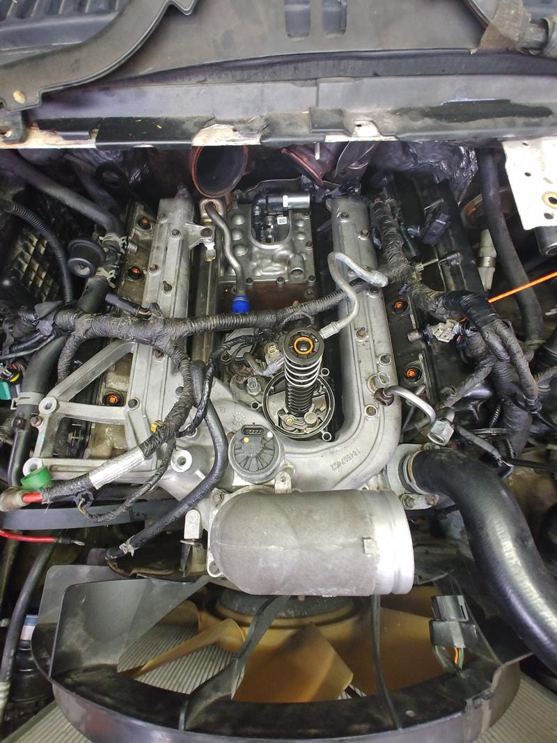 Engine Parts & Fan