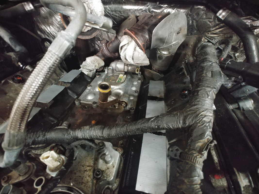 Parts Clogged with Rags