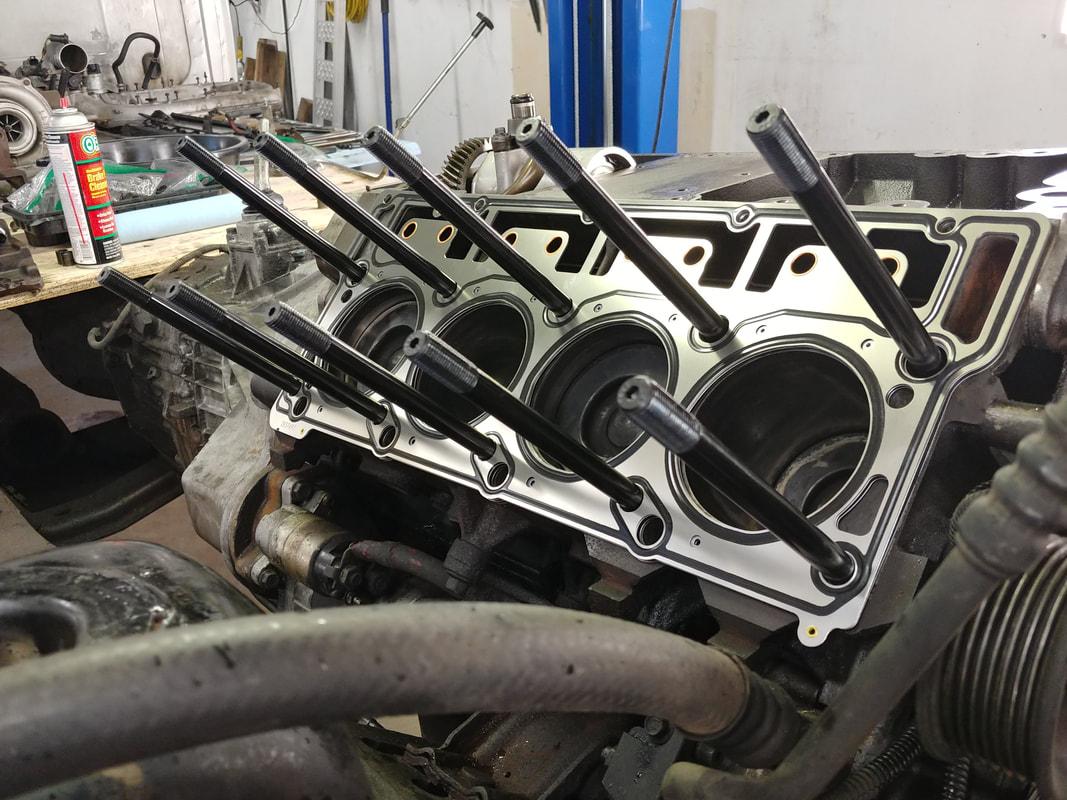 Large Vehicle Engine