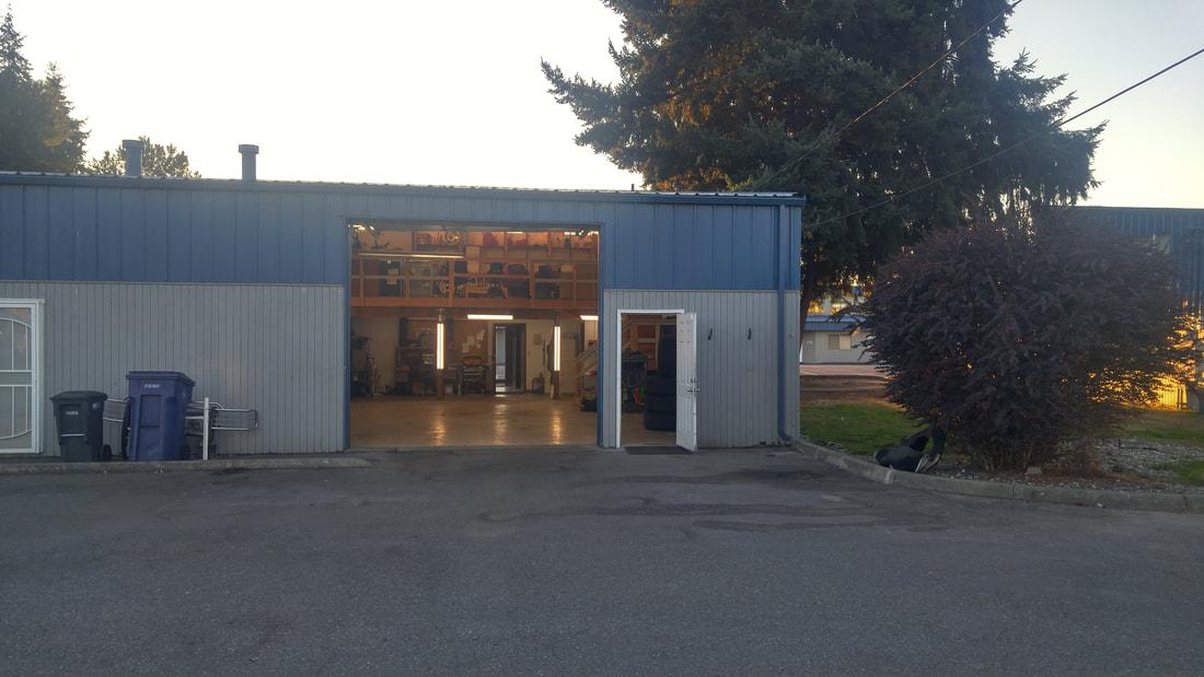 Shop with Doors Open