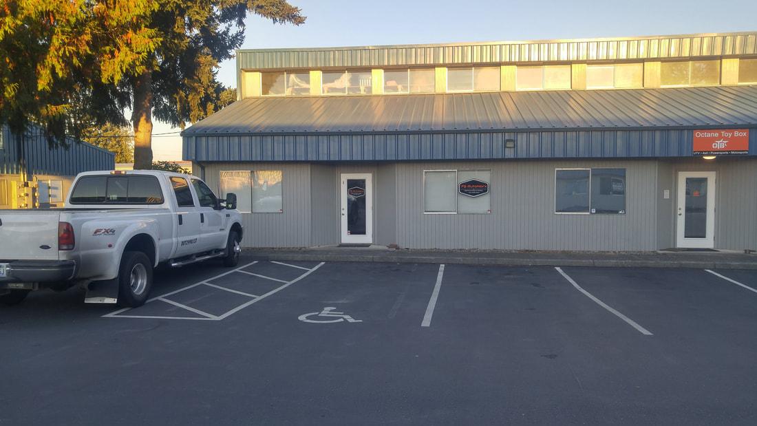 FS Autoworx, Office Entrance