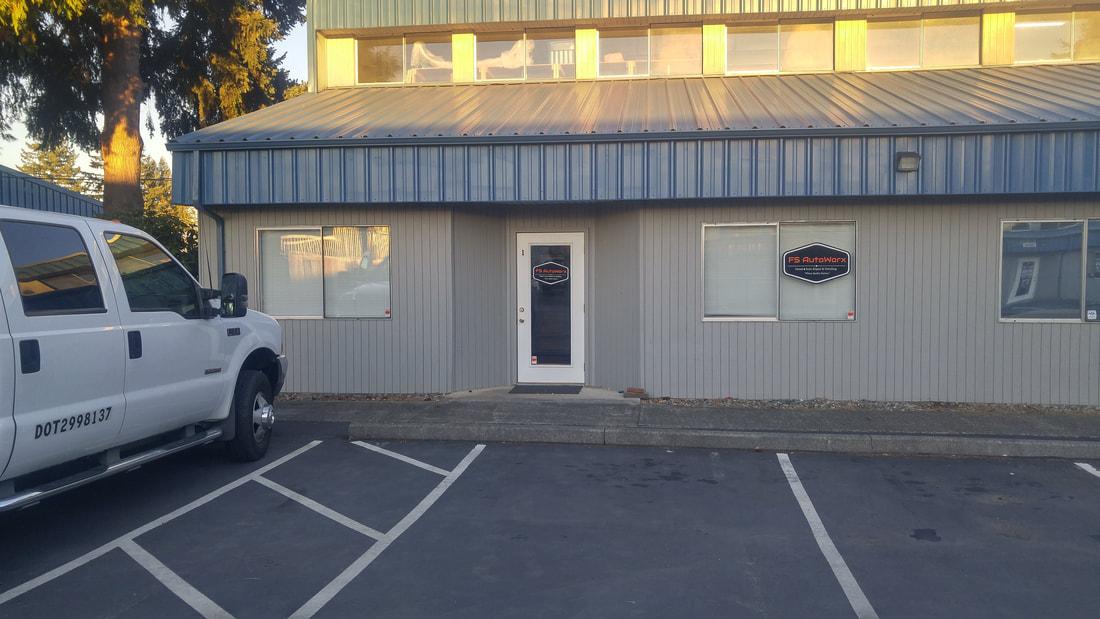 FS Autoworx, Office Door