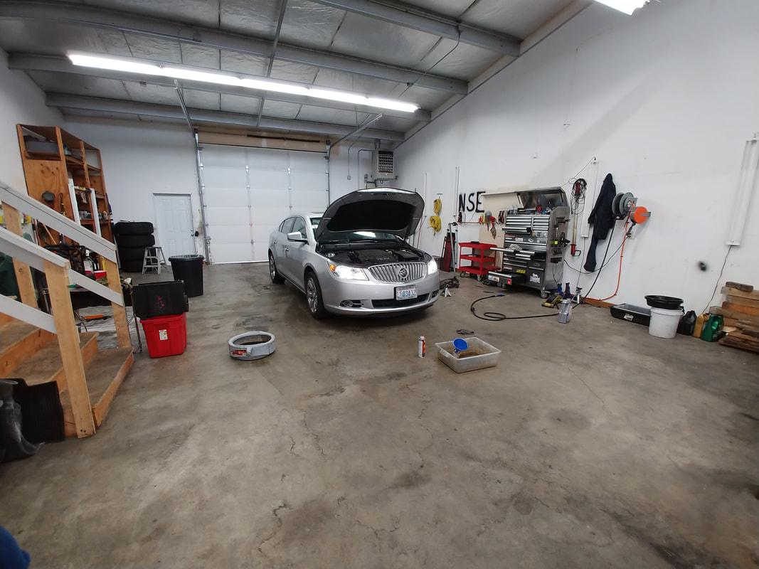Silver Car / Hood Up