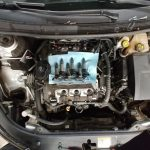 Car Engine / Lifted Hood