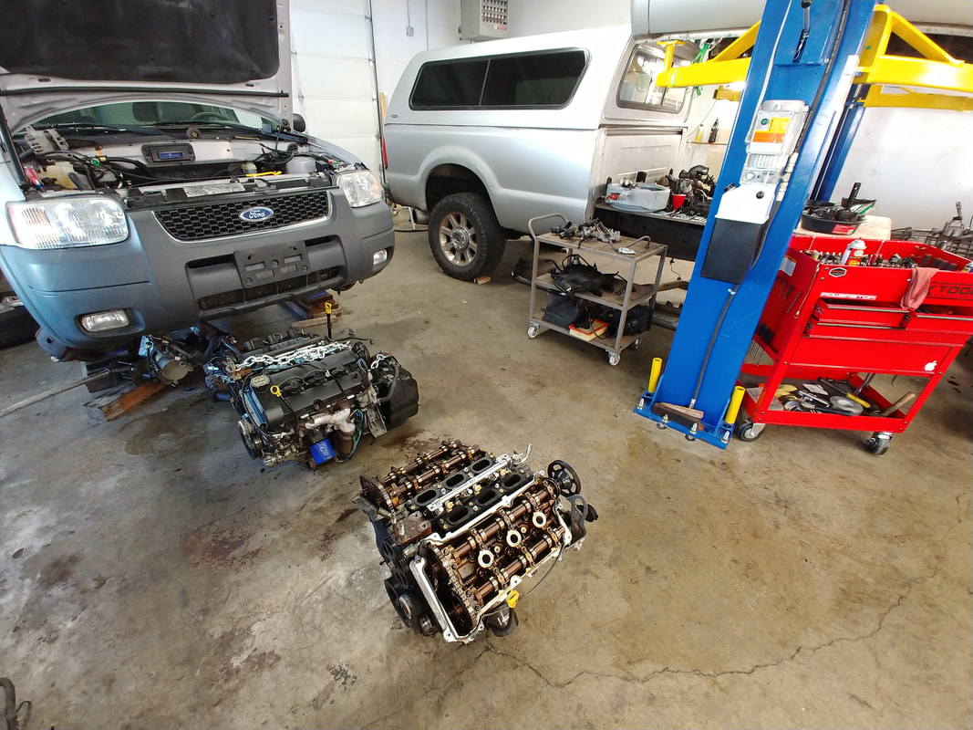 Replacing Ford Engine